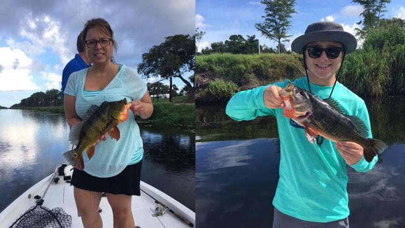 Mixed Florida Bass Fishing Charters