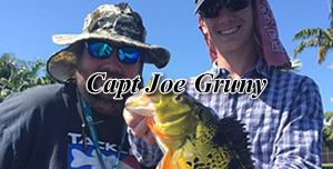 Joe Gruny - Florida Peacock bass fishing guides
