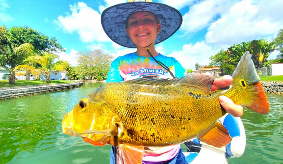 Fort lauderdale Peacock Bass location